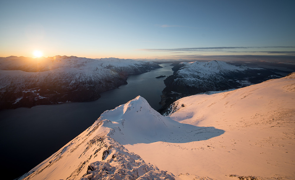 Utsikt utover Sunndalsfjorden