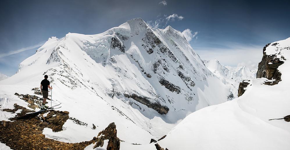 Ved Fox-Dawson Col på 2800m