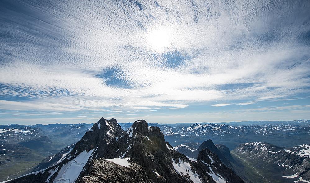 Flotte skyer fra Vetle