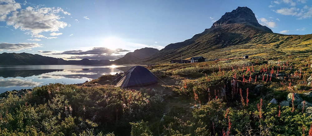 Telt ved Torfinnsbu