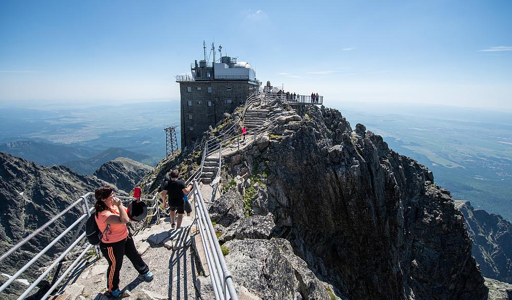 Toppen av Tatrafjellenes nest høyeste fjell