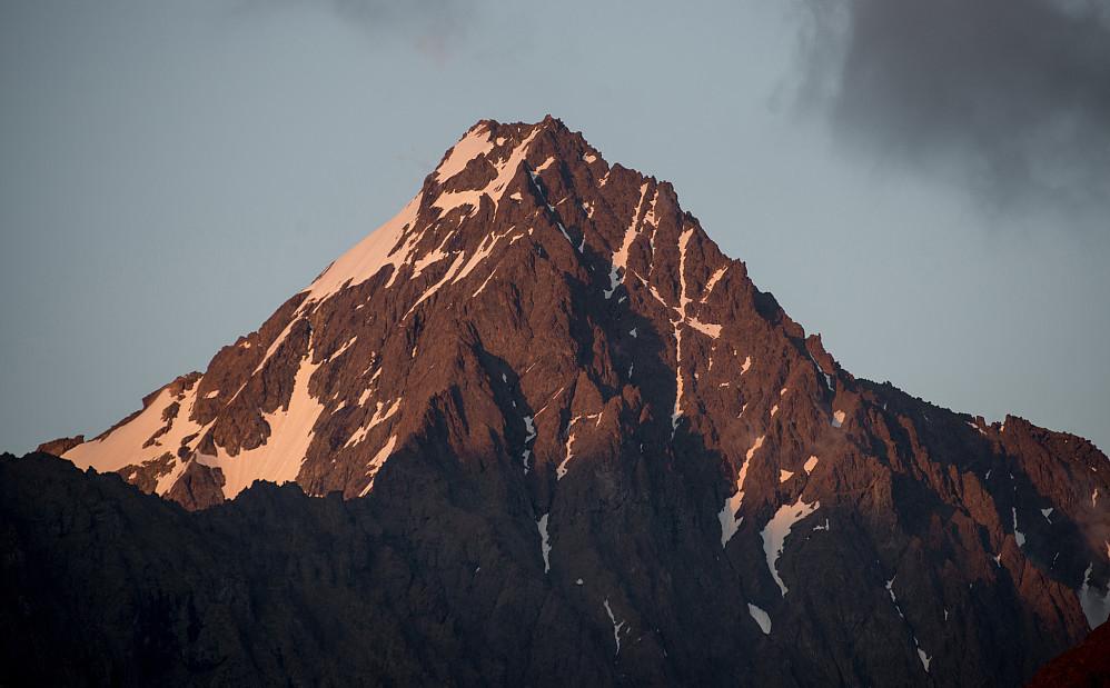Eagle Peak (2120m) ble besteget som den nest høyeste på turen