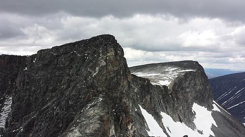 Bakerste og Fremste Storgrovhøe fra Storgrovtinden