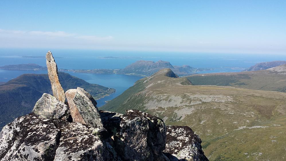 Flott utsikt på Tindfjellet :-)