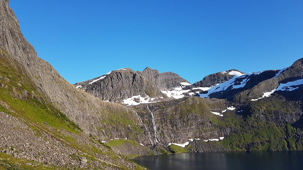 Ved Grytavatnet - Storbotnshornet midt i bildet