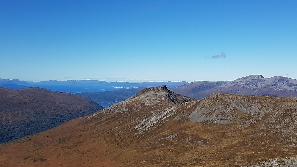 Mot dagens siste topp - Dalefjellet