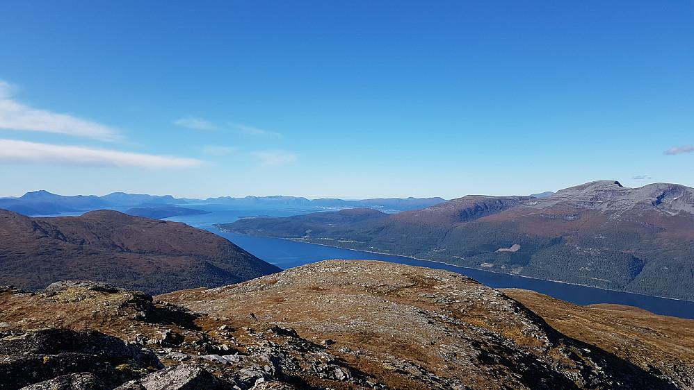 På Dalefjellet - mot Molde