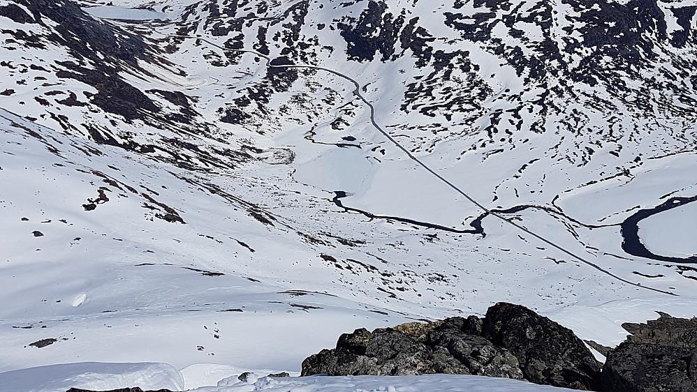 Klar for fin nedtur til Slettvikane