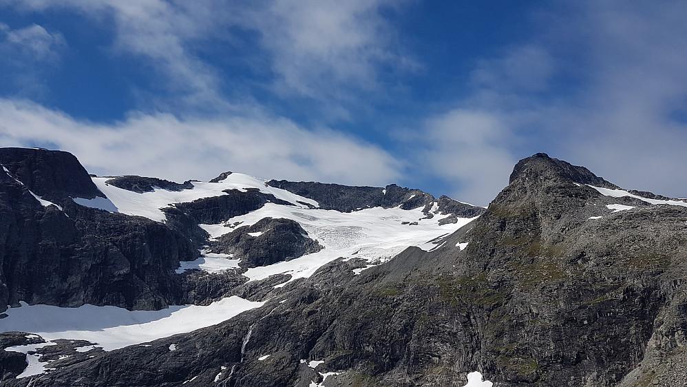 Finnan og Nordre Finnanbreen