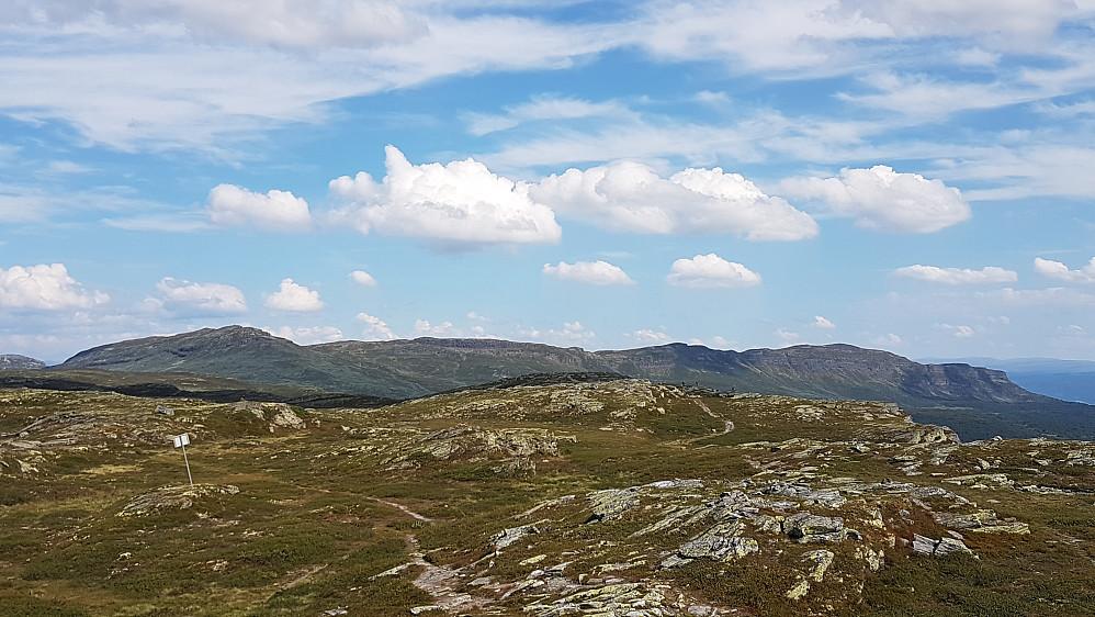 Prestkampen og Bånseterkampene sett fra Skeikampen