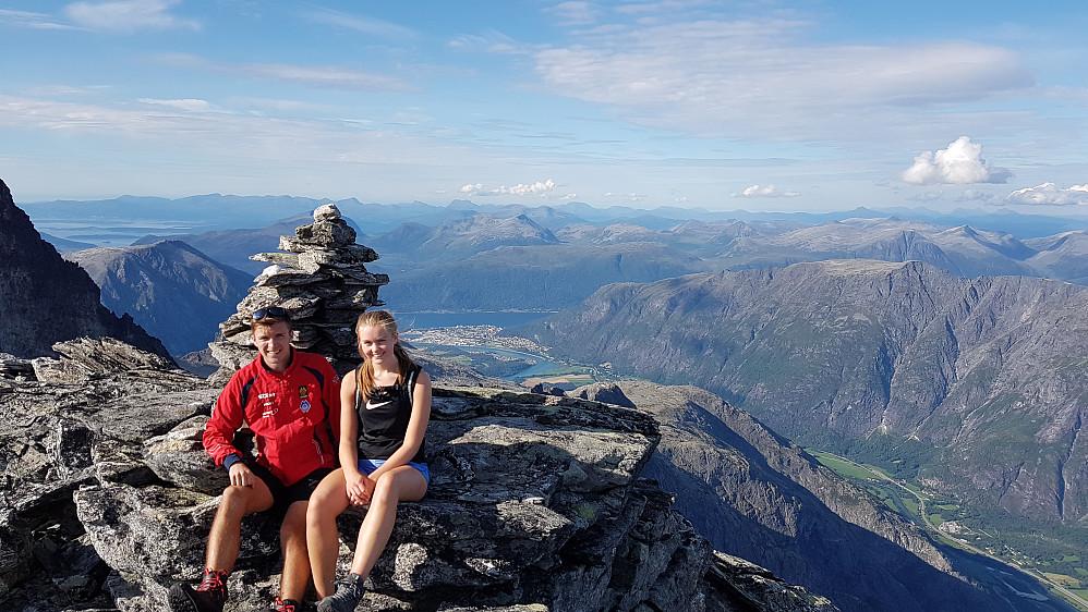 På Trollryggen- mot Åndalsnes (og Molde)