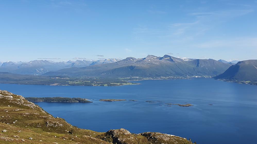 Utsikt fra Vikanakken