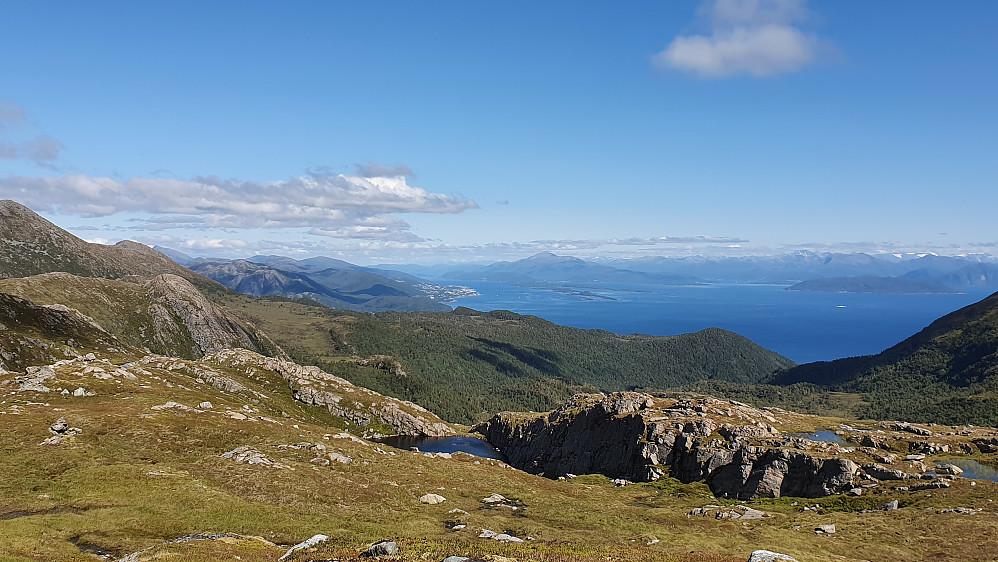Mot Molde og Romsdalsfjorden