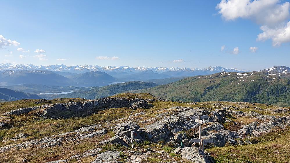 Utsikt fra Røtå