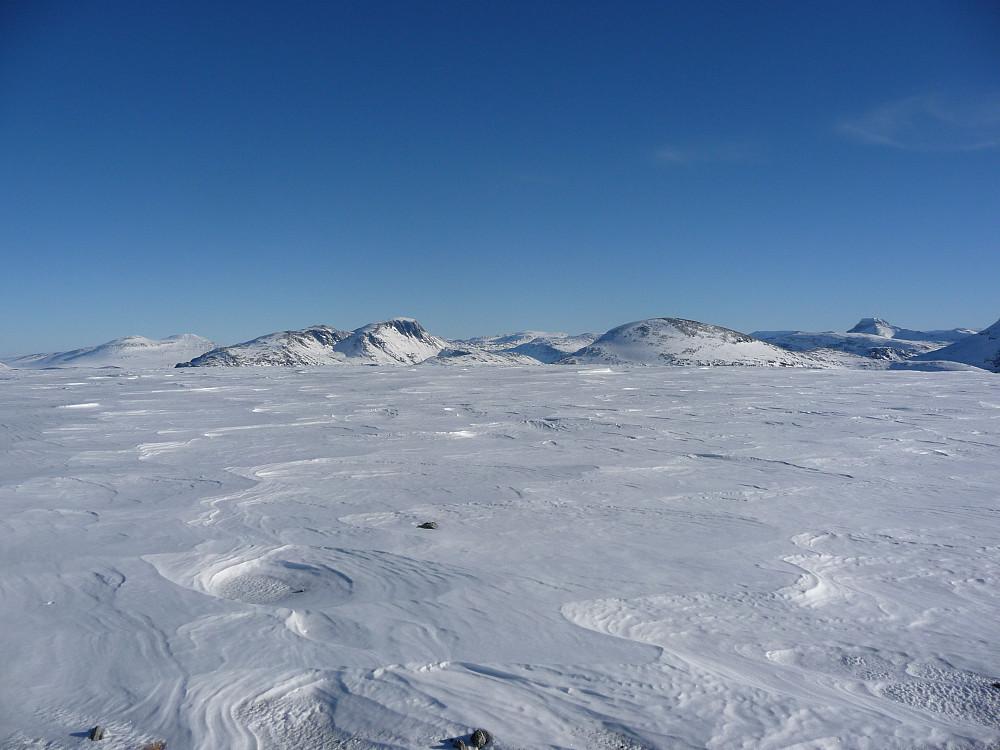 Utsikt mot Snota i øst