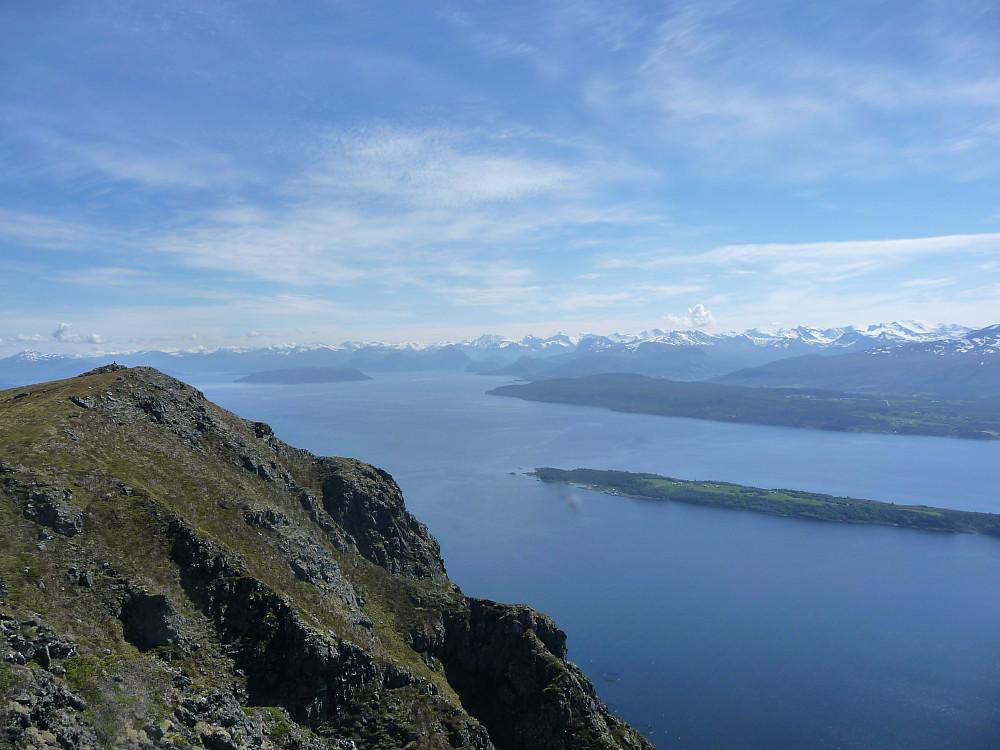Utsikt mot Romsdalen