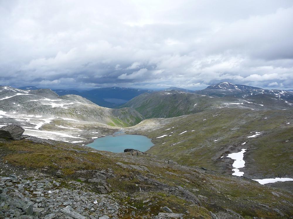 Utsikt mot Gråsjøen og Trollhetta