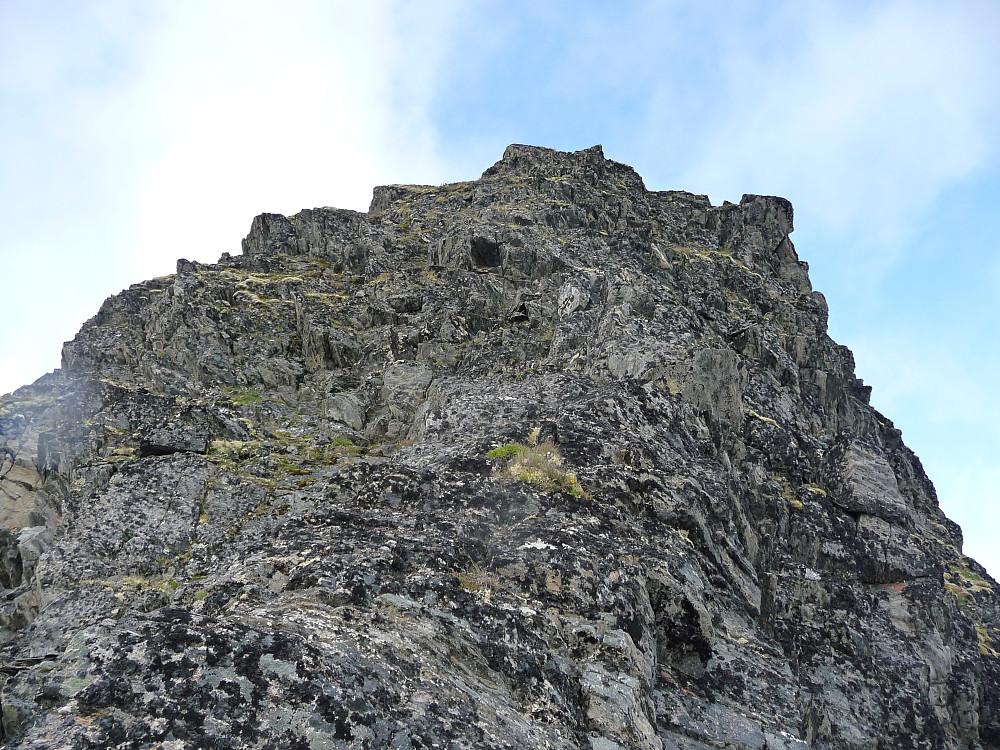 Nedstigningen sett nedenfra