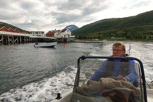 Leif Jørgensen i Tårnvika