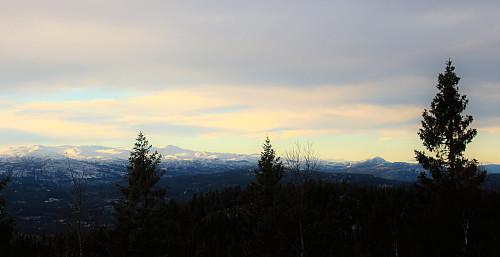 Utsikt fra Grønknuten mot vest