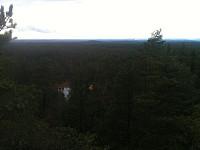 Utsikt mot vest