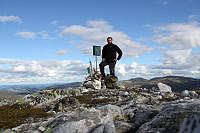 Toppen på Røysdalsnuten
