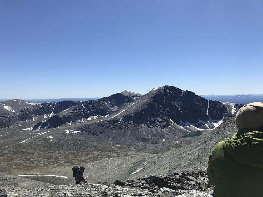 Utsikt mot Rondeslottet og Storronden