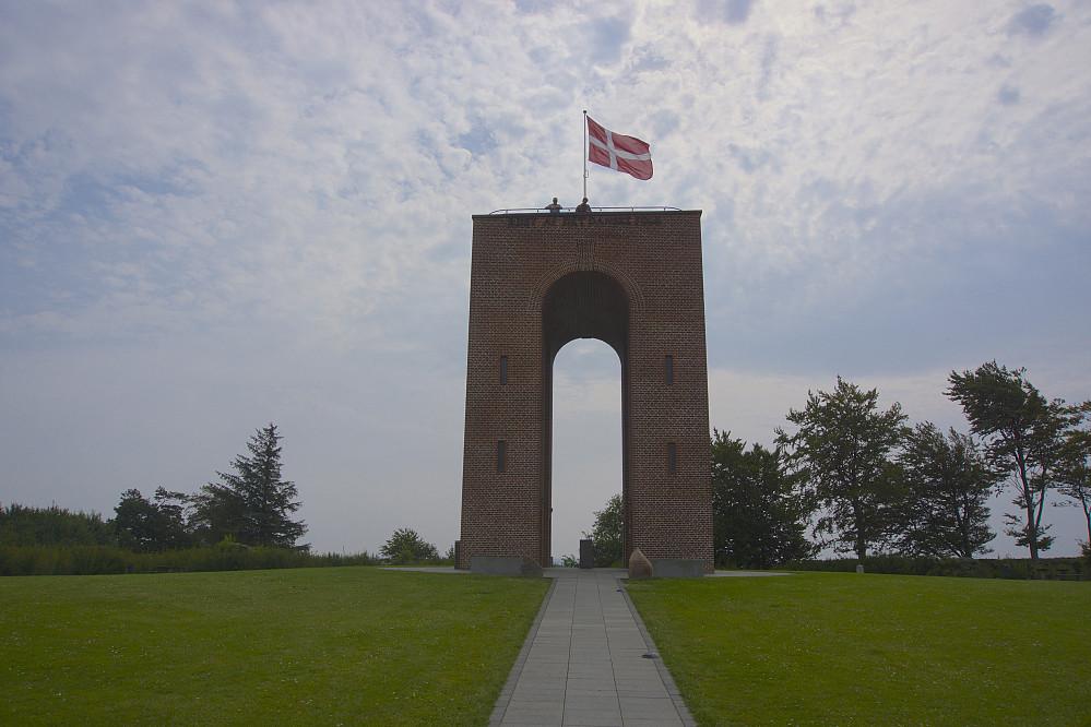 Utsiktstårnet på Ejer Bavnehøj, som i en lang periode hadde status som den høyeste toppen i Danmark