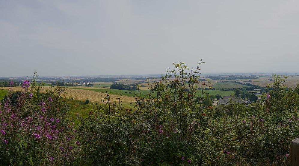 Utsikt fra Møgelhøj