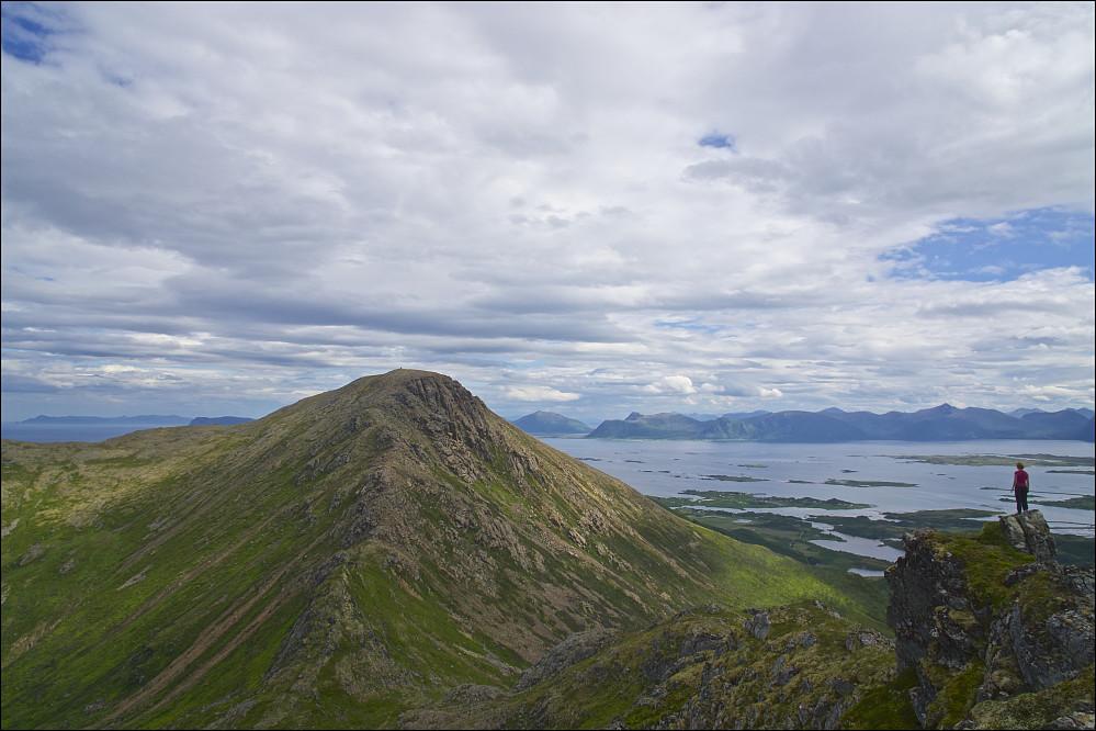 Utsikt fra Finngamheia mot Sørkulen