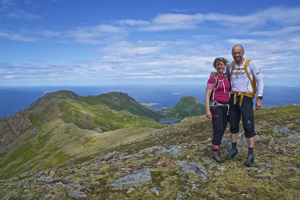 Utsikt fra Sørkulen mot Stø