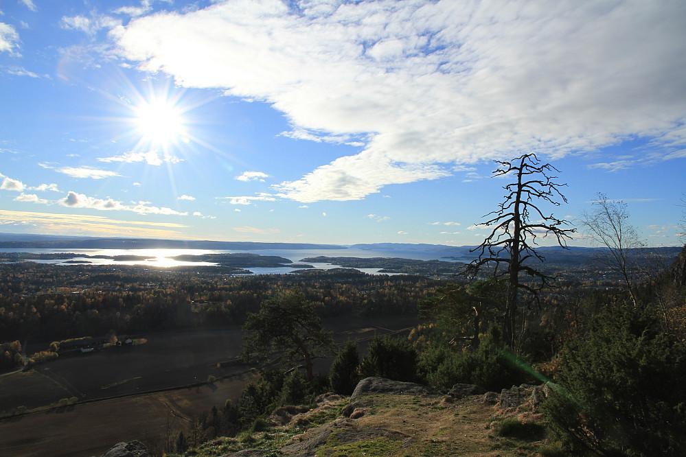 Oslofjorden sett fra Gråmagan, topp nummer to på runden