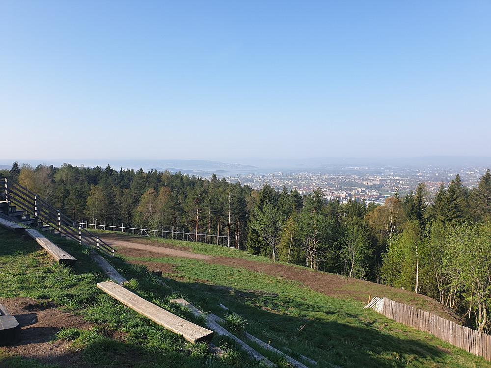 Utsikt fra Grefsenkollen