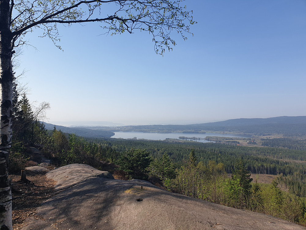 Maridalen sett fra Barlindåsen utsiktspunkt
