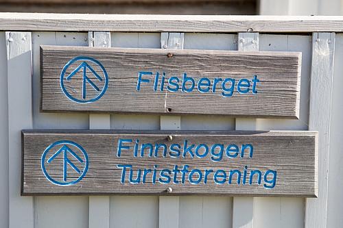 Bruket Flisberget er et knutepunkt i stinettet til DNT.