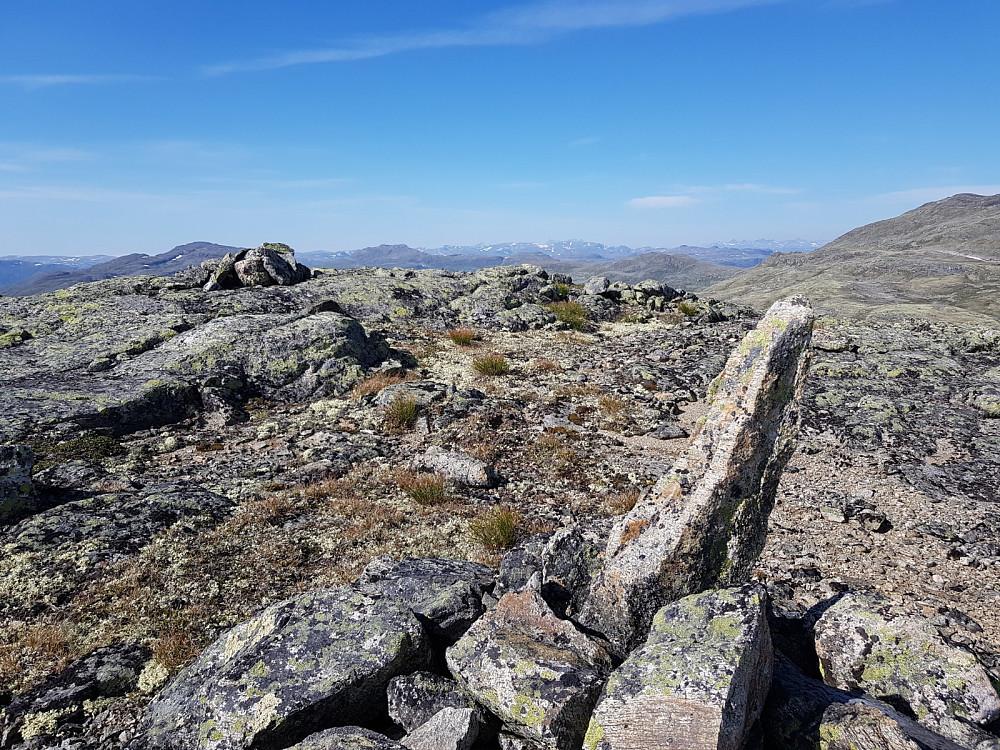 Frå Bjordalshaugen mot nord.