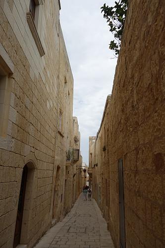 Trange gater i Mdina.