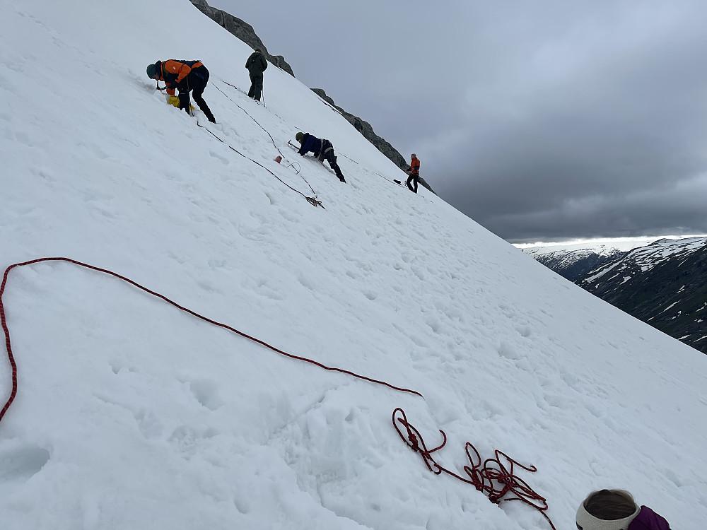 Sikringsmidler i snø
