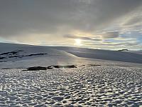 Brenibba og tuppen av Lodalskåpa rett bak (fra Steinmannen)