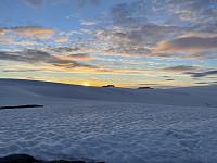 Kveldsstemning på Jostedalsbreen