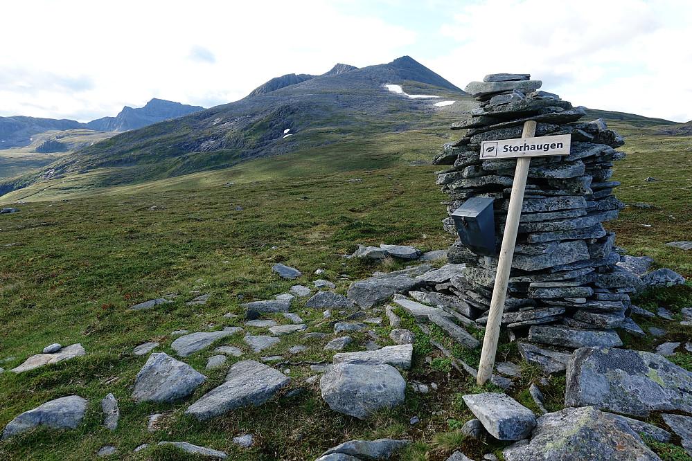 Fra Storhaugen retning toppene som stod for tur.