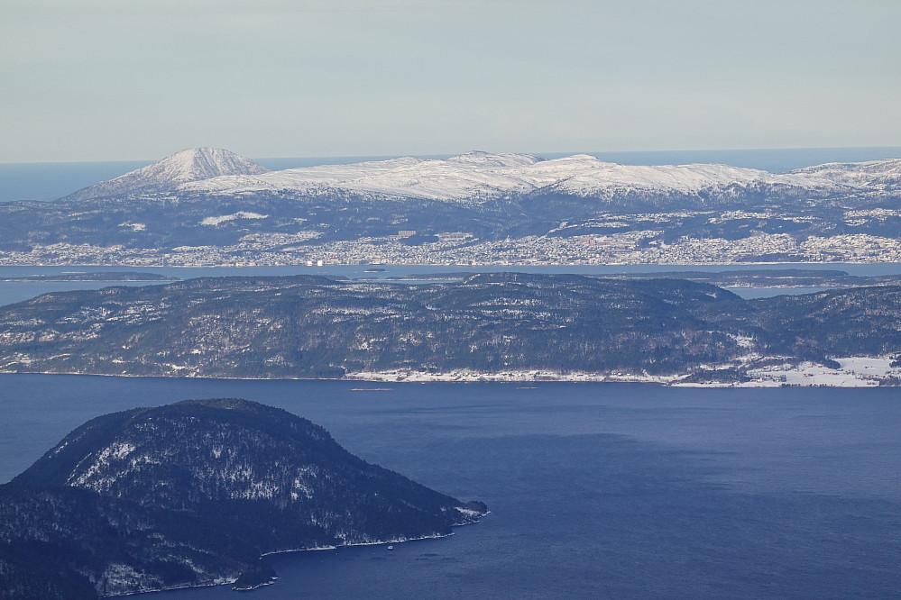 Fra Skarven mot Molde.