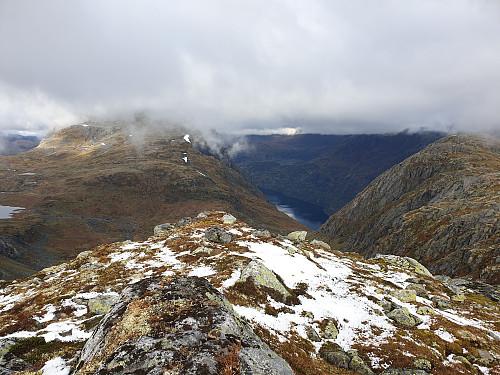 Utsikt frå Storefjell