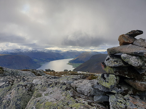 Utsikt frå Blåfjellet