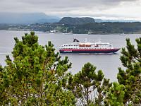 Bremsneshatten og Hurtigruta