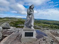 Madonnastatuen på Bjønneskortenatten