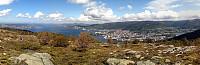 Byfjord-panorama from Damsgårdsfjellet
