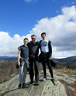 On the top of Gravdalsfjellet