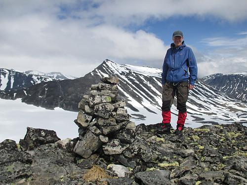 På Søre Bukkeholstind mot Styggehø