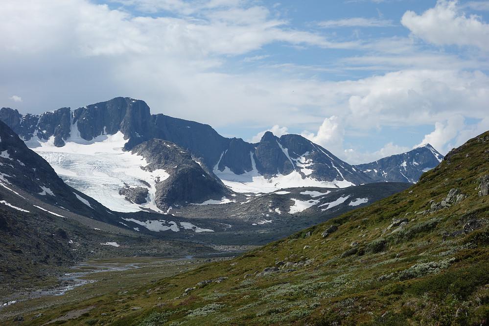 Diverse Kalvåhøgda topper fra nordsiden ?